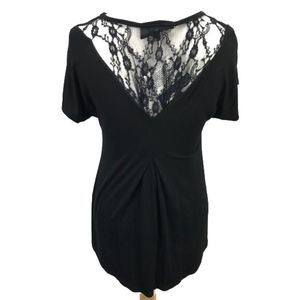 """Antthony Women's  """"Gladys"""" Top w/Lace Inserts"""